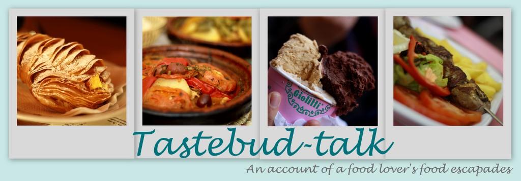 Tastebud-talk