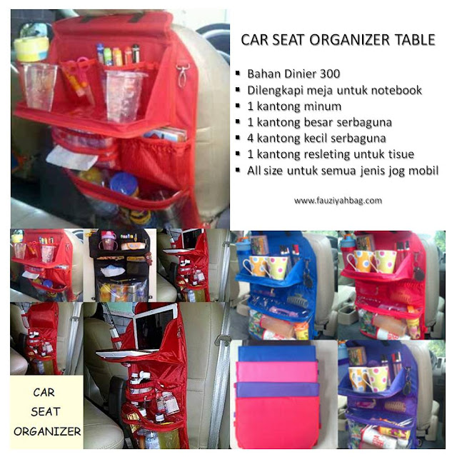 Car Seat Organizer Table
