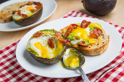 Poached Egg On Toast With Chipotle Mayonnaise, Bacon & Avocado Recipes ...