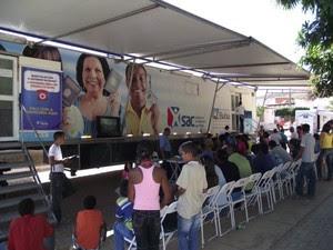SAC Móvel visita quatro cidades do sul da Bahia (Foto: Adenilson Nunes/Divulgação)