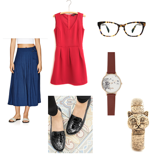 1 Item, 3 Ways: Canada Day Edition with Aritzia, Warby Parker and ModCloth