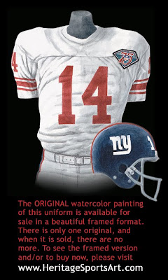 New York Giants 1994 uniform