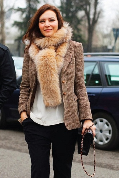 exPress-o: Faux Fur Scarf: Thumbs up or down?