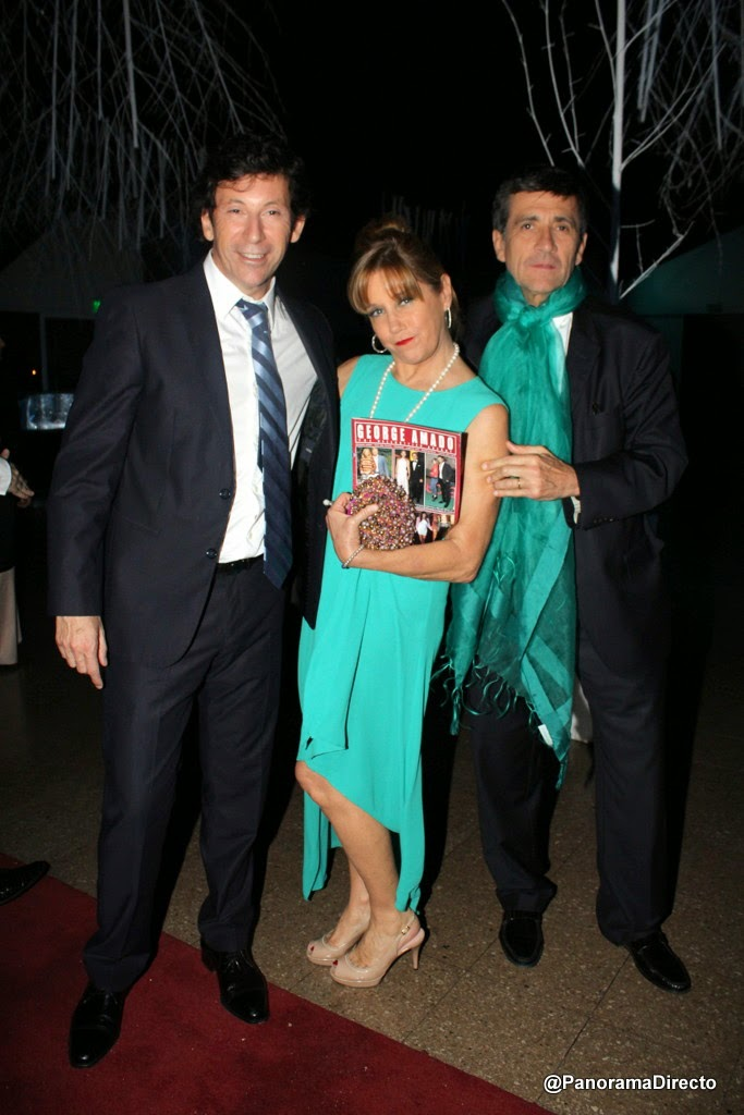 Gustavo Posse, Marcela Tinayre y Marcos Gastaldi