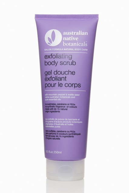 australian native botanicals scrub