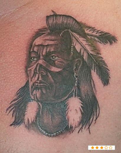 Native American Warrior Tattoo Designs