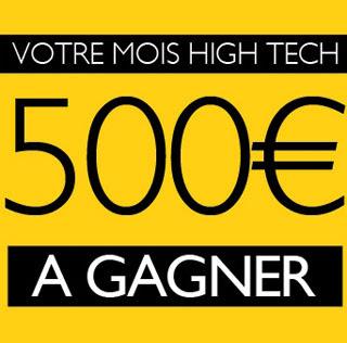 Jeu concours Gagnez 1 chèque de 500 euros