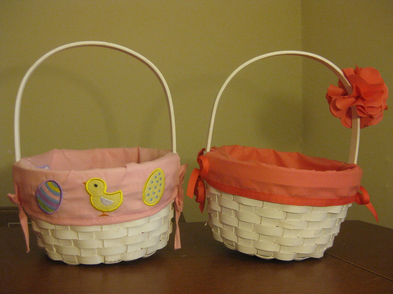 Bonnieprojects Flower Girl Baskets With Exchangable Liners