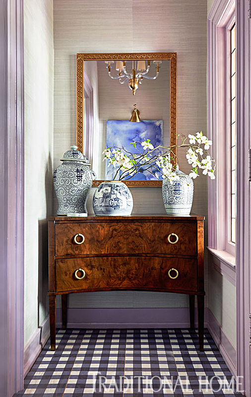 Chinoiserie Chic The Foyer