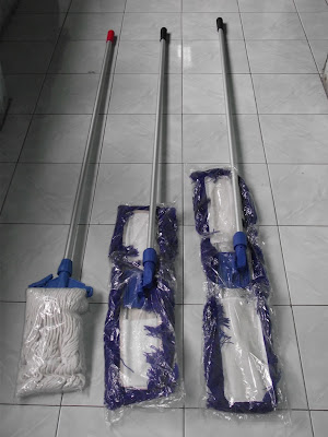 Lobby Duster & Wet Mop Set