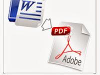 Cara konversi dokumen ke pdf