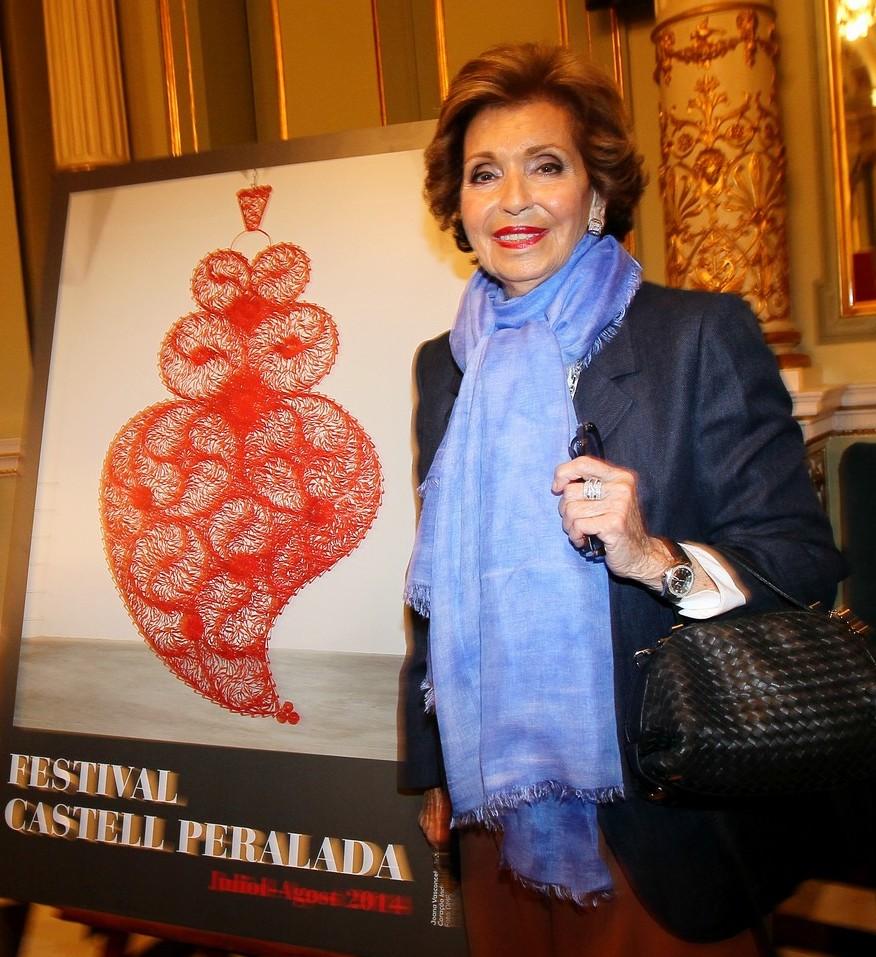 Muere la fundadora del Festival de Peralada, Carmen Mateu