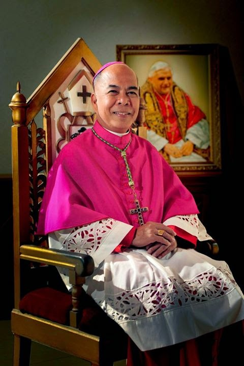 His Grace Archbishop Romulo Valles, DD of Davao