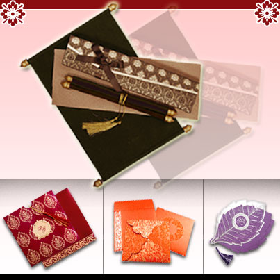 Indian wedding cards Alone can do everything Indian Wedding