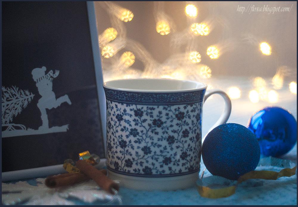 новогодняя фотография с боке, бокэ снежинка