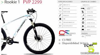 Nueva Berria Bravo Roockie 27,5, la bici para debutantes exigentes