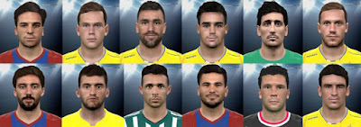 PES 2016 Liga BBVA Facepack v3 by Andrews