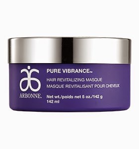 arbonne pure vibrance hair revitalizing masque how to use