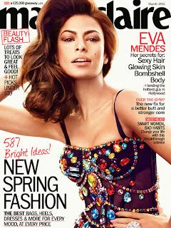 Eva Mendez covers Marie Claire