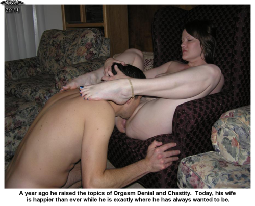 Wife forced chastity