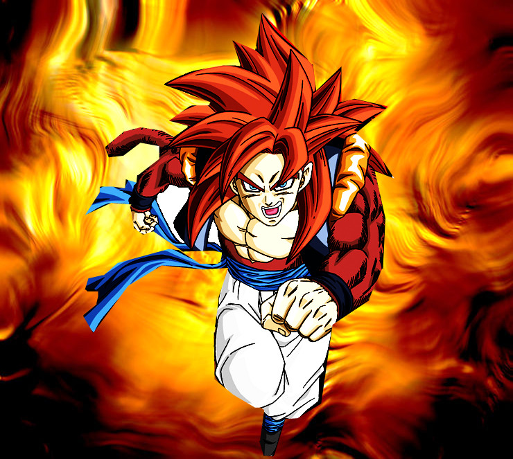 DRAGON BALL Z WALLPAPERS: Gogeta Super Saiyan 4 Ssj4 Gogeta