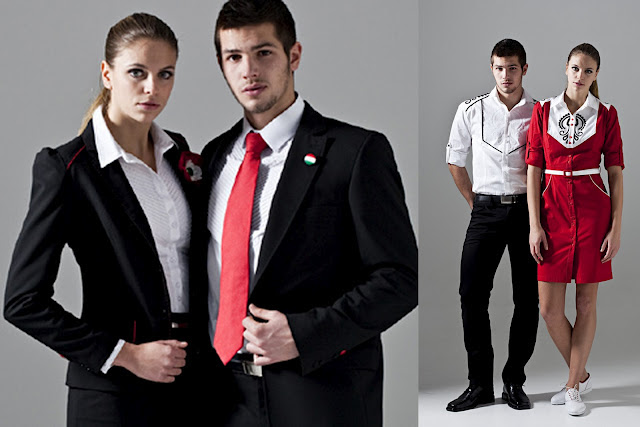 Hungary uniform for london olympic
