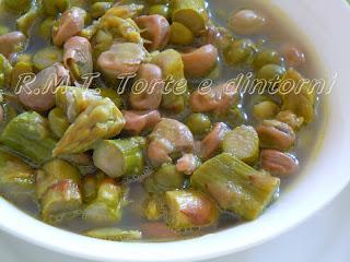 ricetta di famiglia: minestra di fave, piselli, asparagi