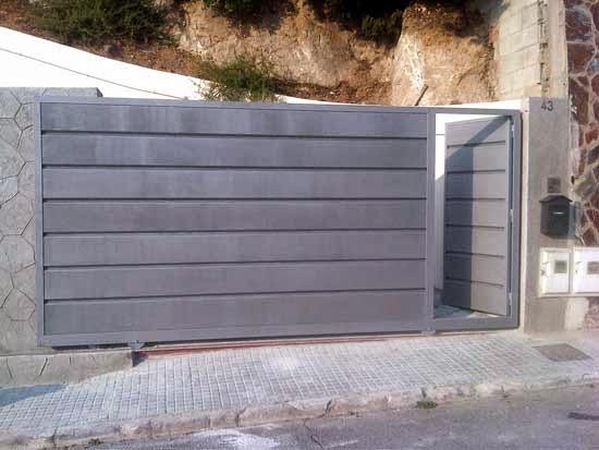Puertas Correderas Puertas Autom Ticas Puertas De Garaje
