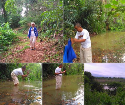 Kondisi Situs Cipeueut dan Situs Dalem Santanapura Mulai Tergenang Air Jatigede
