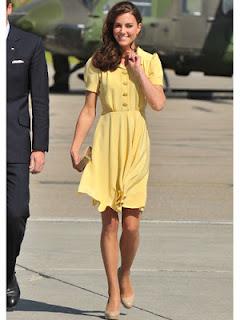 Style yellow dress 14