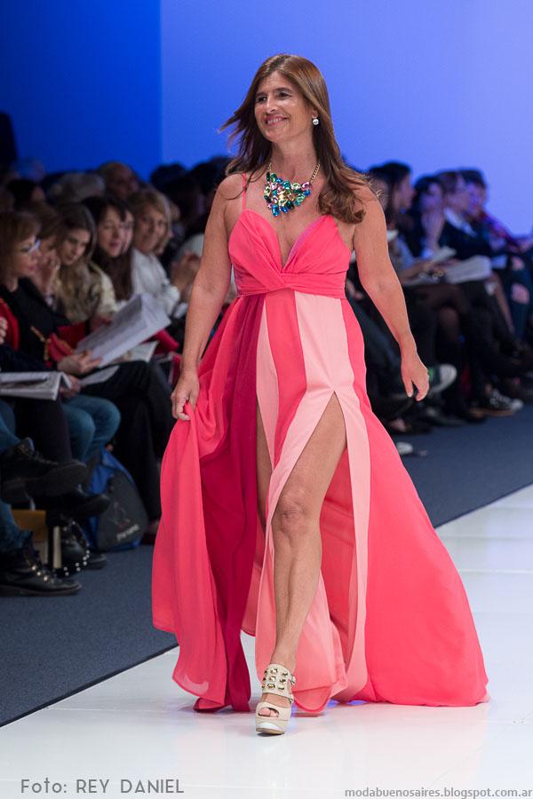 Desfile Clarin Mujer 2016 Argentina Fashion Week primavera verano 2016.