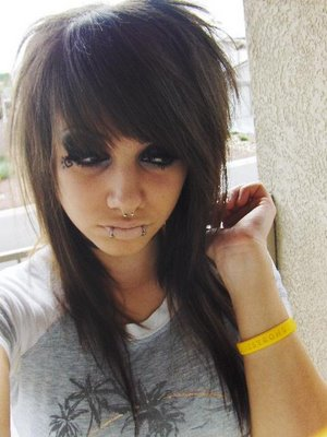 cute hairstyles for girls with long_15. emo hairstyles for girls with