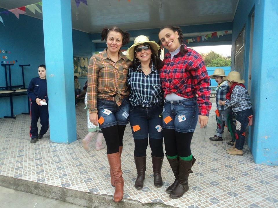 Festa Julina na Esc. Soares de Paiva