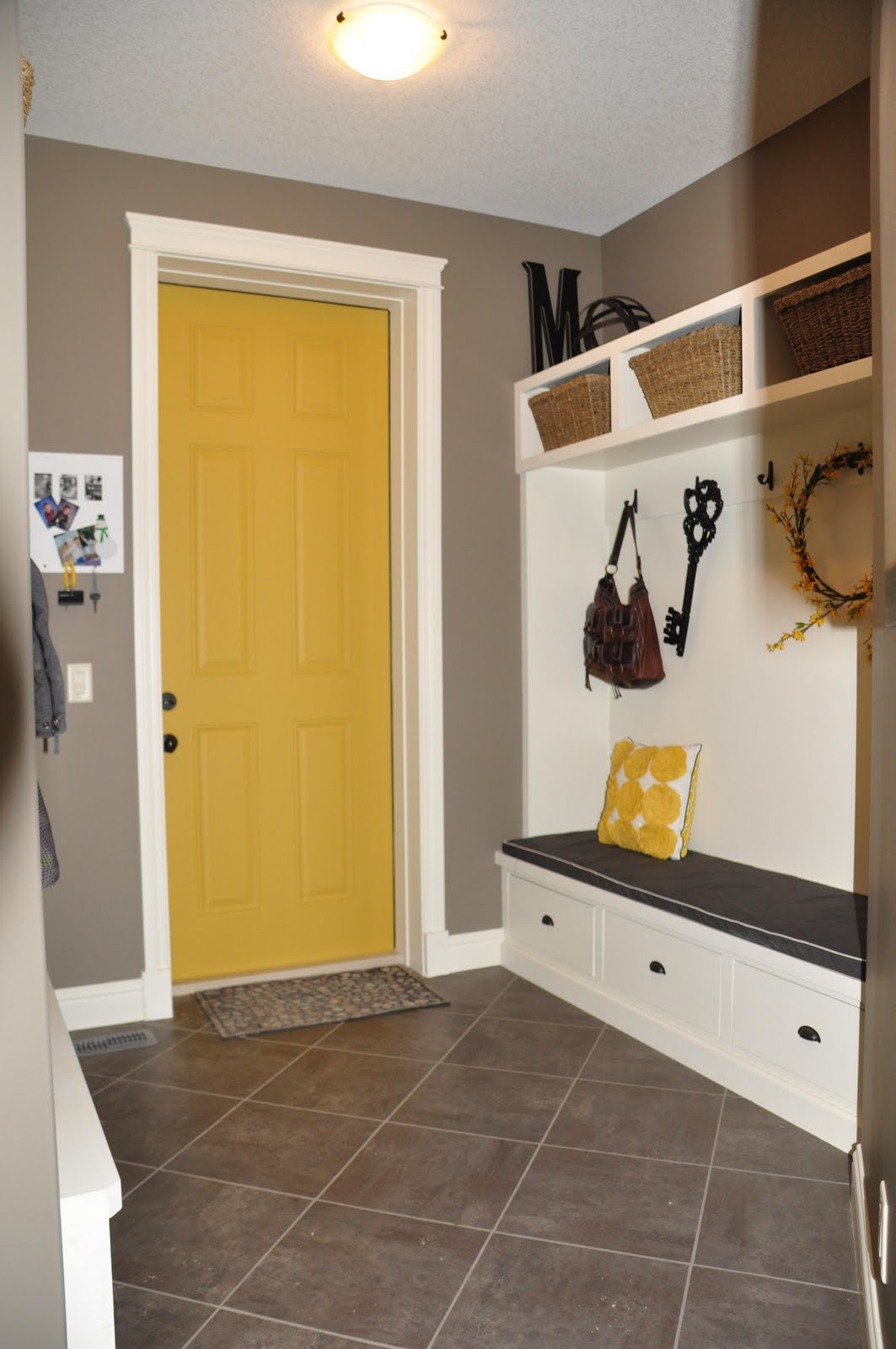 Yellow Paint For Kitchen Walls Yellow Kitchen Walls With Brown Cabinets Wonderful Interior