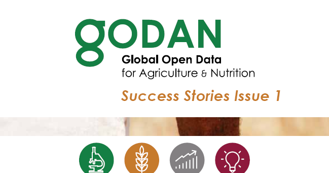 New Book | Global Open Data for Agriculture & Nutrition: Success Stories, Issue 1