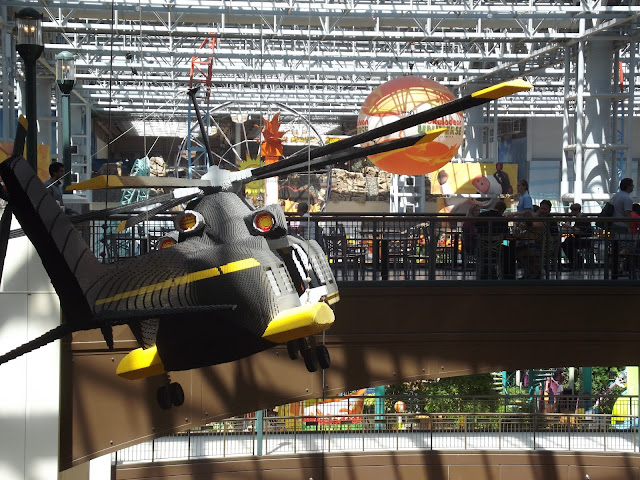 LEGO helicopter Mall of America
