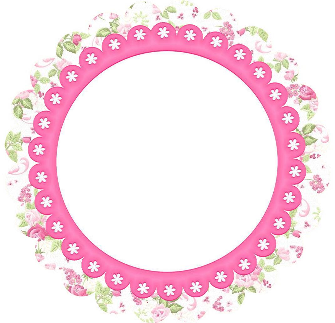 Free Printable Flower Frames