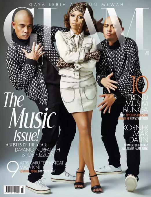 Dayang Nurfaizah Joe Flizzow Glam 2015 Cover