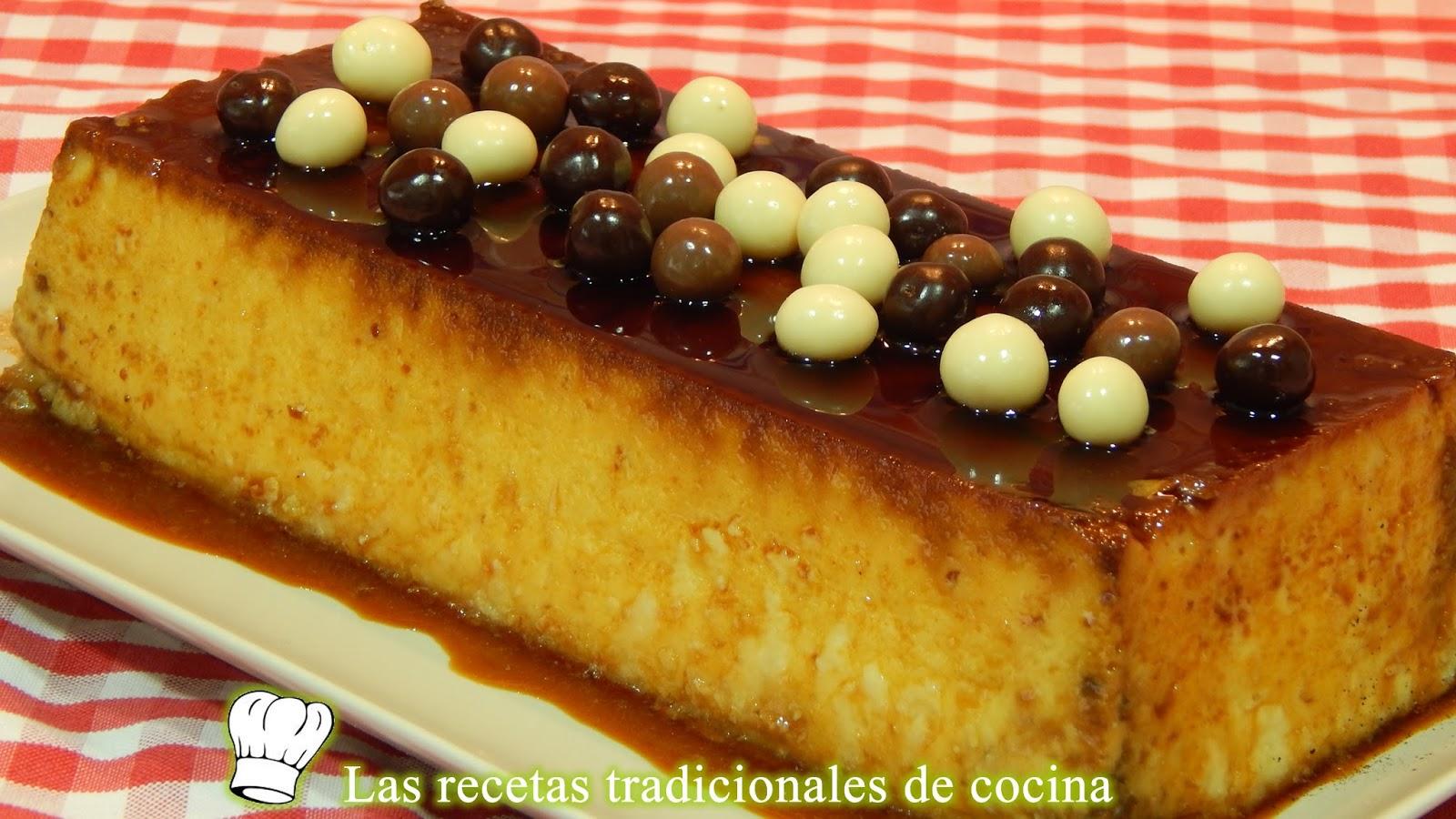 Baño Blanco De Azucar Receta:Receta de flan de chocolate blanco