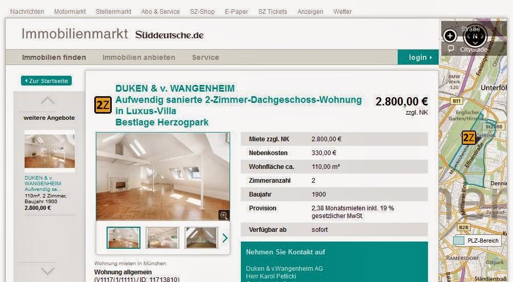 M Ef Bf Bdnchen Wohnung Mieten  Zimmer