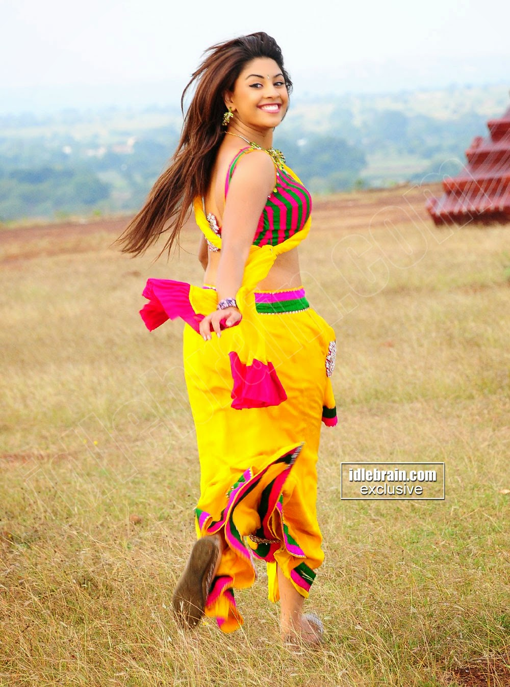 Richa Gangopadhyay running