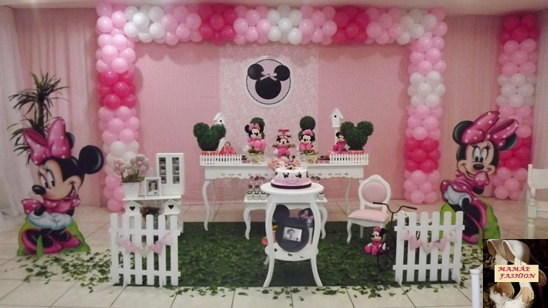 decoracao festa minnie rosa:Decoracao Da Minnie Rosa