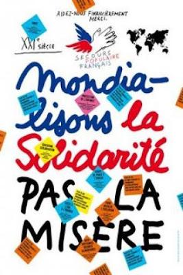 Printemps de la solidarité mondiale : Bernard Lavilliers s'engage auprès du Secours Populaire Français dans SOCIETE secours-pop
