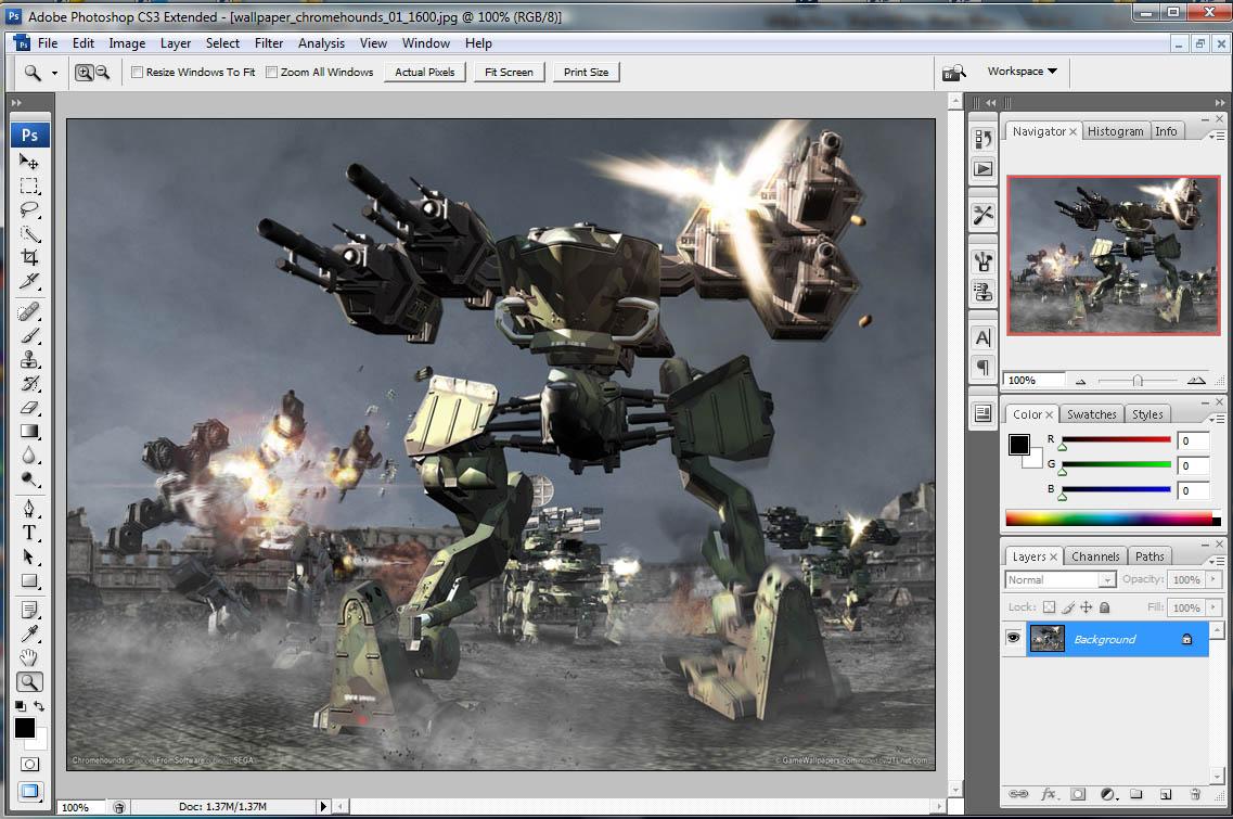 Download Adobe Photoshop Untuk Xp