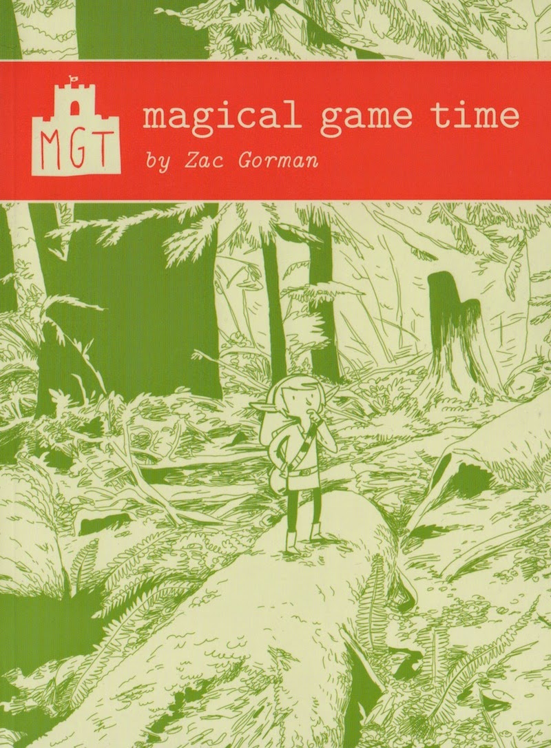 Zac Gorman's Magical Game Time Cover