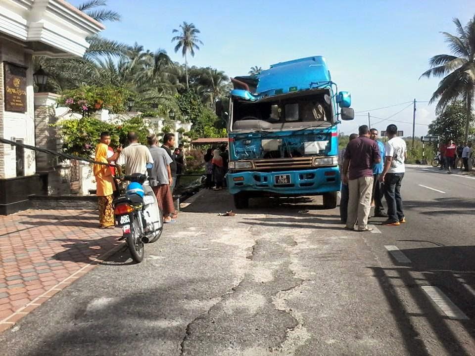 Kemalangan Ngeri Di Bachok Kelantan