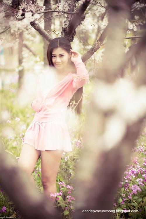 Váy hồng xinh xắn 6