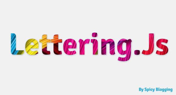 Lettering Plugin Logo