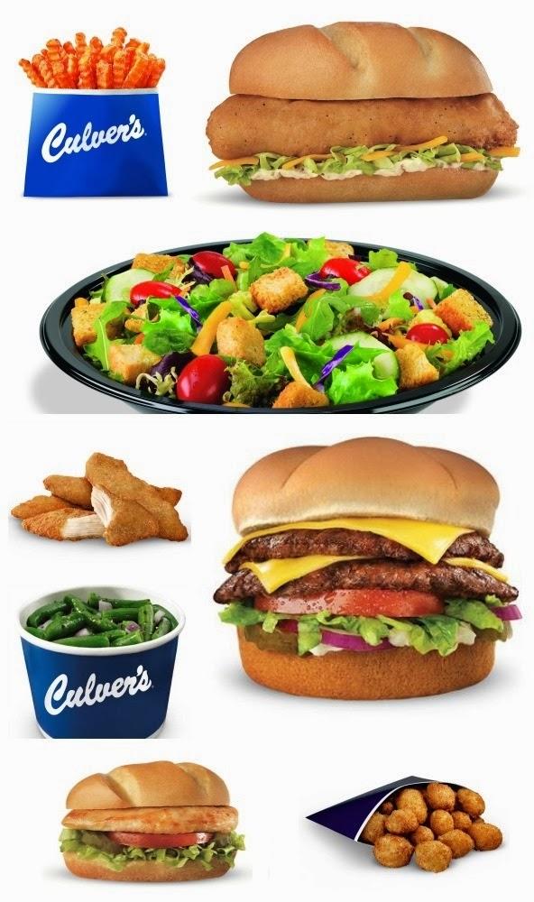 Culver's menu