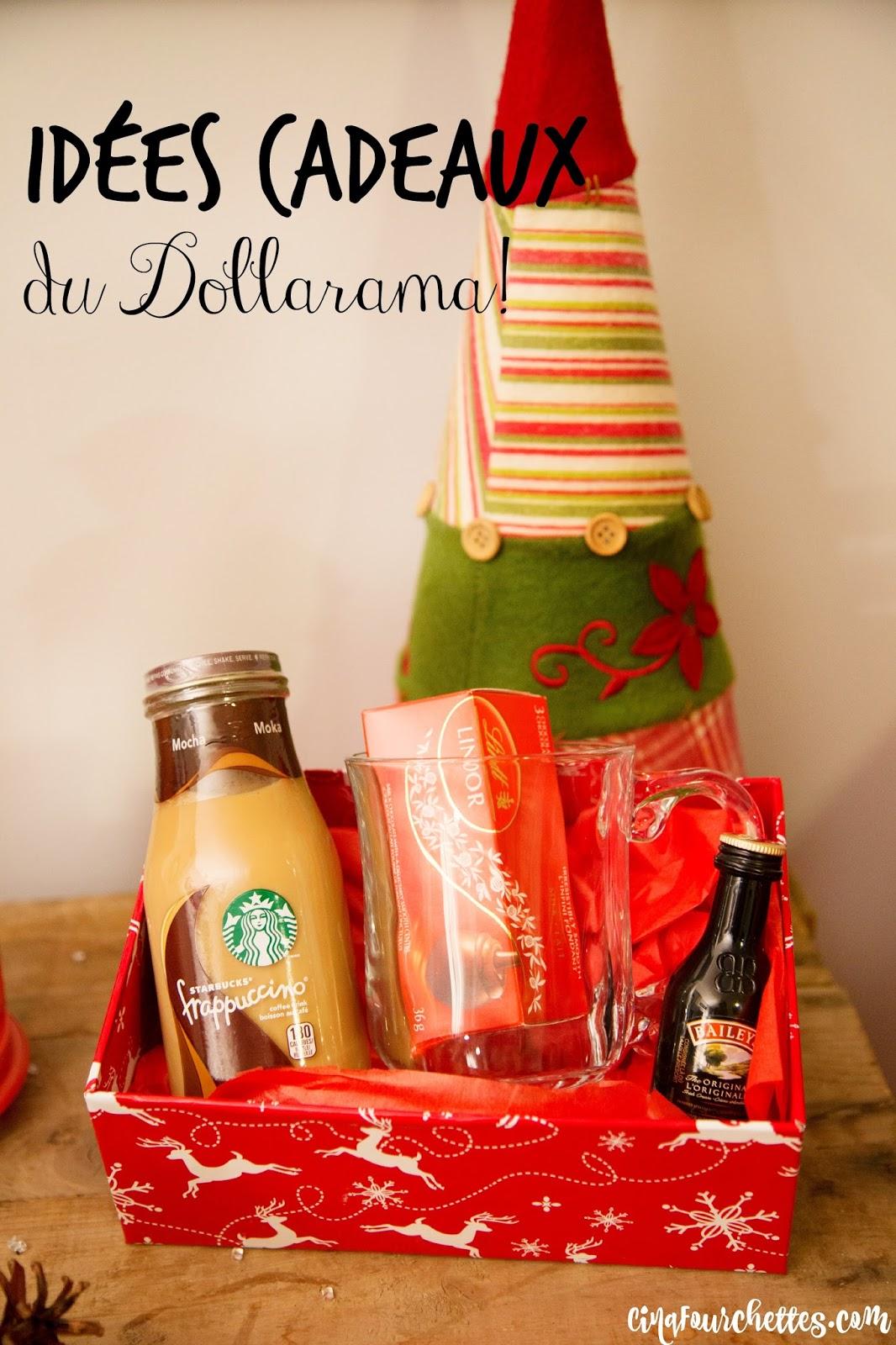Célèbre 5 idées de panier-cadeau pas chers grâce au Dollarama! - Cinq  AA96